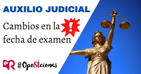 Auxilio Judicial examen oposición