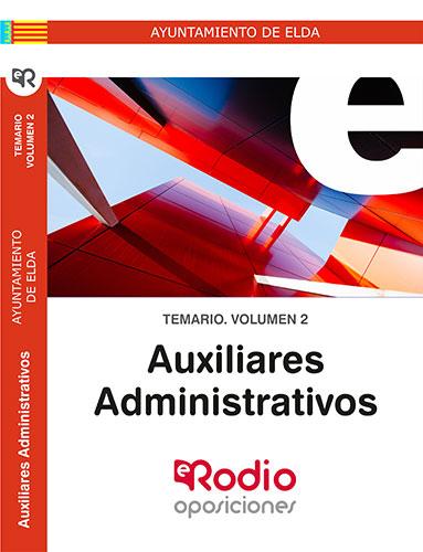 Auxiliar Administrativo Elda Temario Oposiciones