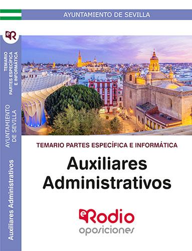 temario oposiciones auxiliar administrativo sevilla rodio