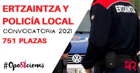 Ertzaintza 2021 oposiciones
