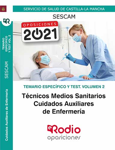 Auxiliar Enfermería SESCAM temario oposiciones