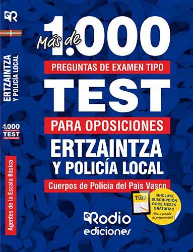 Test oposiciones Ertzaintza