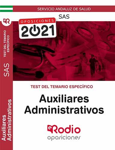 Test Auxiliar Administrativo SAS oposiciones Rodio