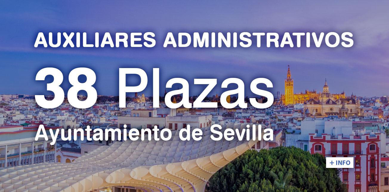 Auxiliar Administrativo Sevilla oposiciones temarios Rodio