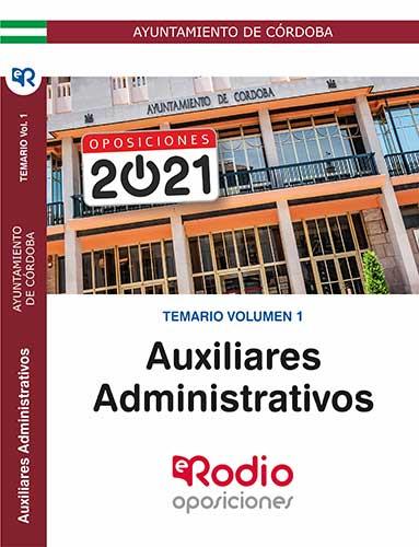 Auxiliar Administrativo Ayuntamiento de Córdoba oposiciones
