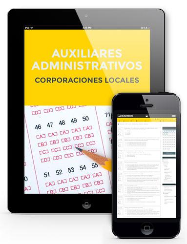test oposiciones auxiliar administrativo ayuntamientos