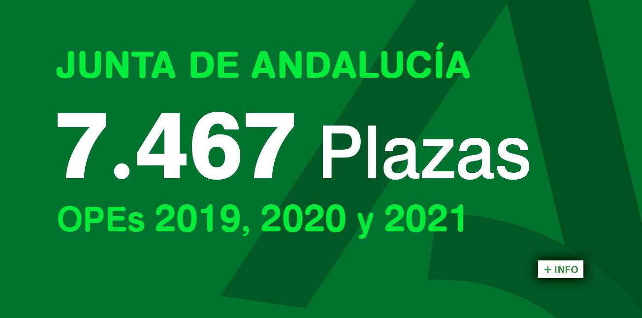 OFERTA JUNTA DE ANDALUCÍA 2021