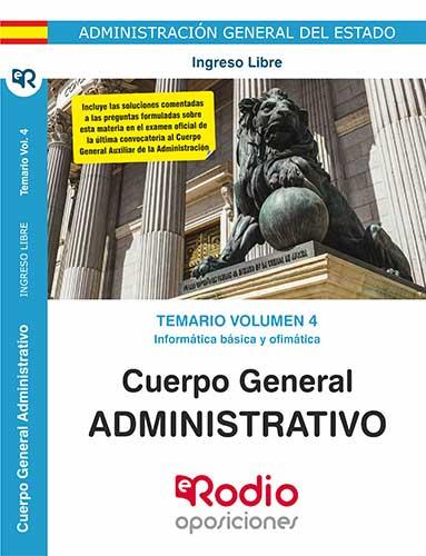 Administrativo del Estado temario oposiciones Ediciones Rodio