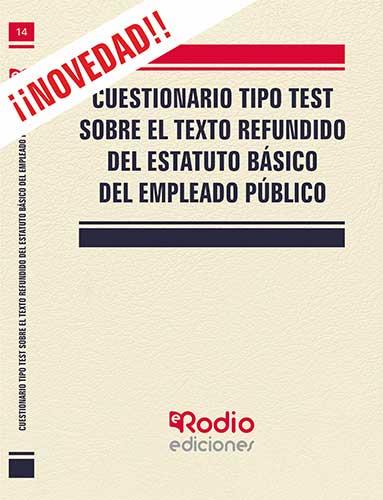 Test. Texto Refundido del Estatuto Básico del Empleado Público.